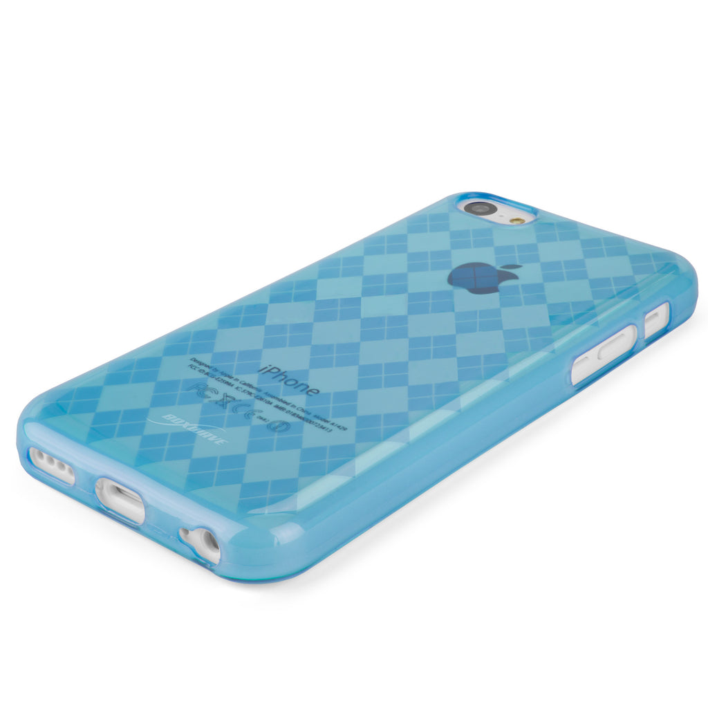 Argyle Crystal Slip - Apple iPhone 5c Case