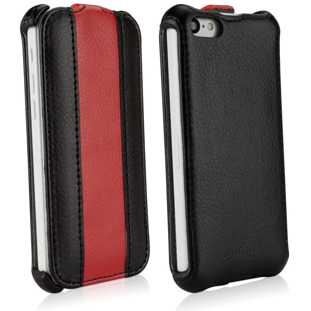 CorsaModa Leather Flip Case - Apple iPhone 5c Case