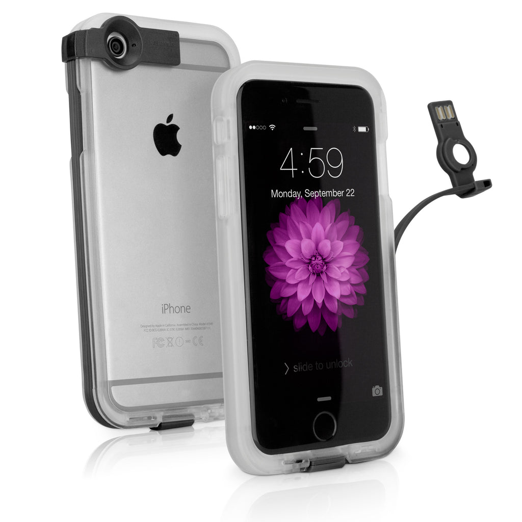CableBuddy iPhone 6s Plus Case - Clear