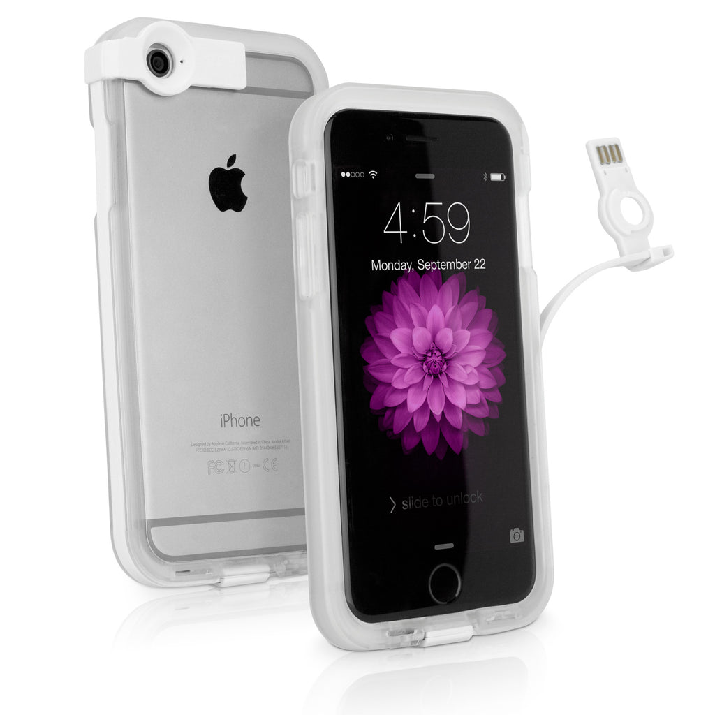 CableBuddy iPhone 6 Case - Clear