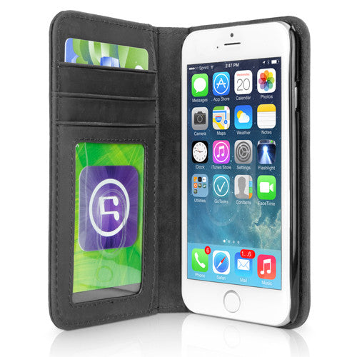 Classic Book Case - Slate Grey - Apple iPhone 6 Case