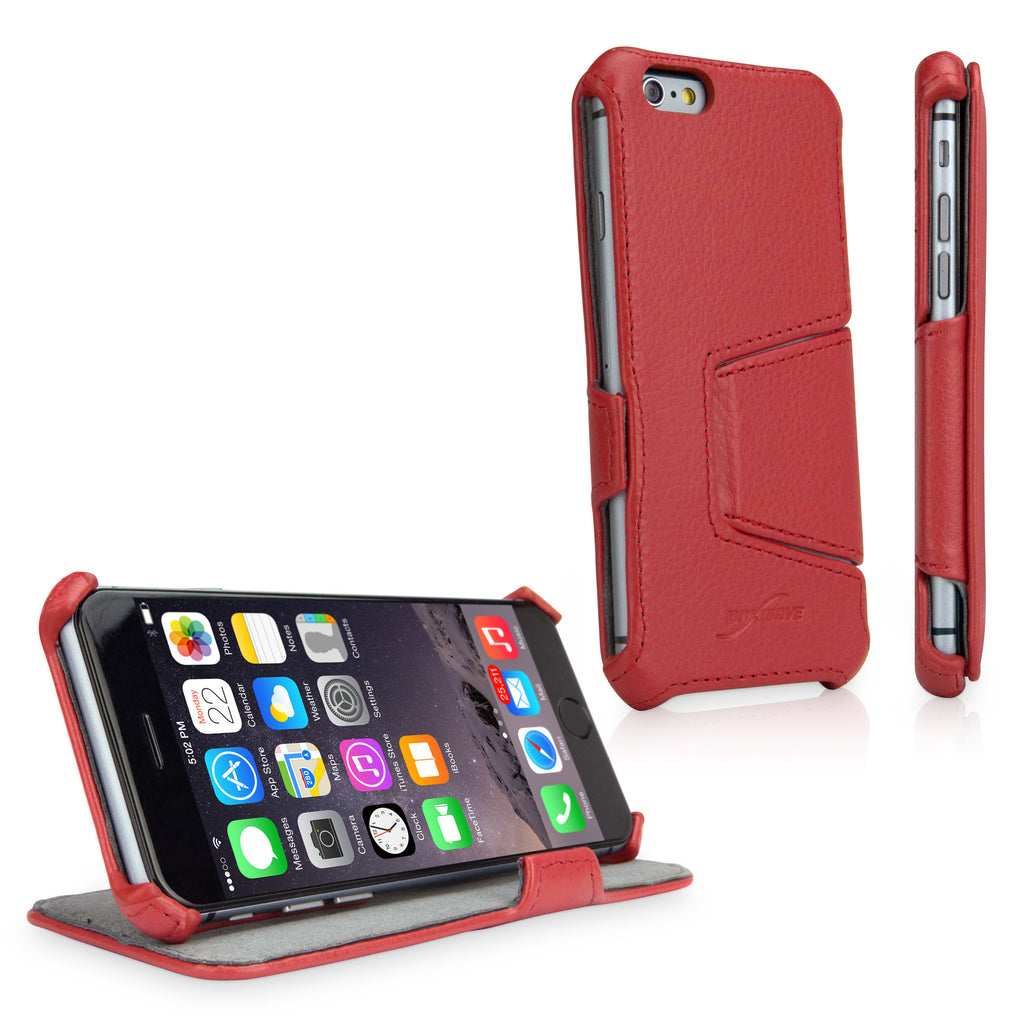 Leather Book Jacket - Apple iPhone 6 Case