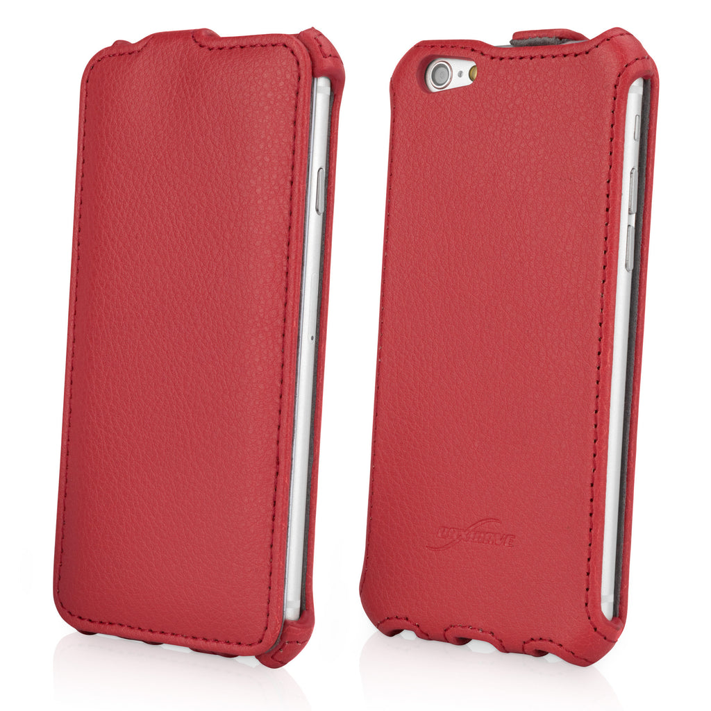Leather Flip iPhone 6 Case