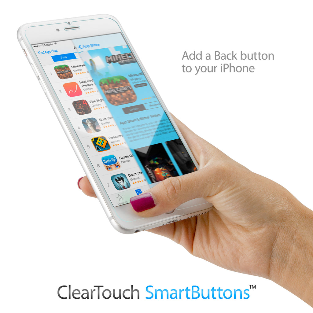 ClearTouch SmartButtons - Apple iPhone 6 Screen Protector