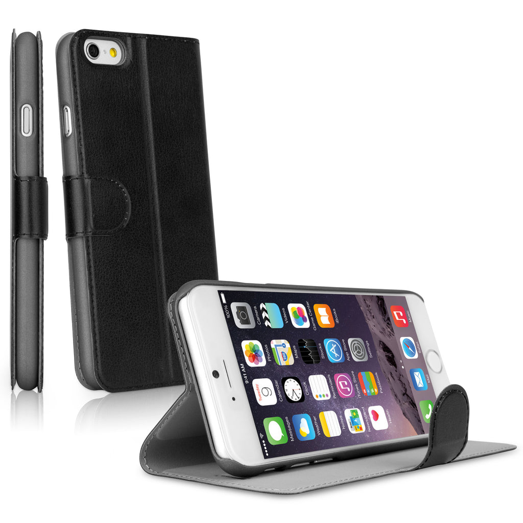 Slim LeatherBook iPhone 6s Case
