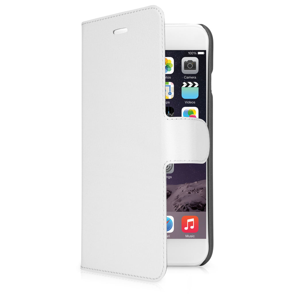 Slim LeatherBook Case - Apple iPhone 6s Case