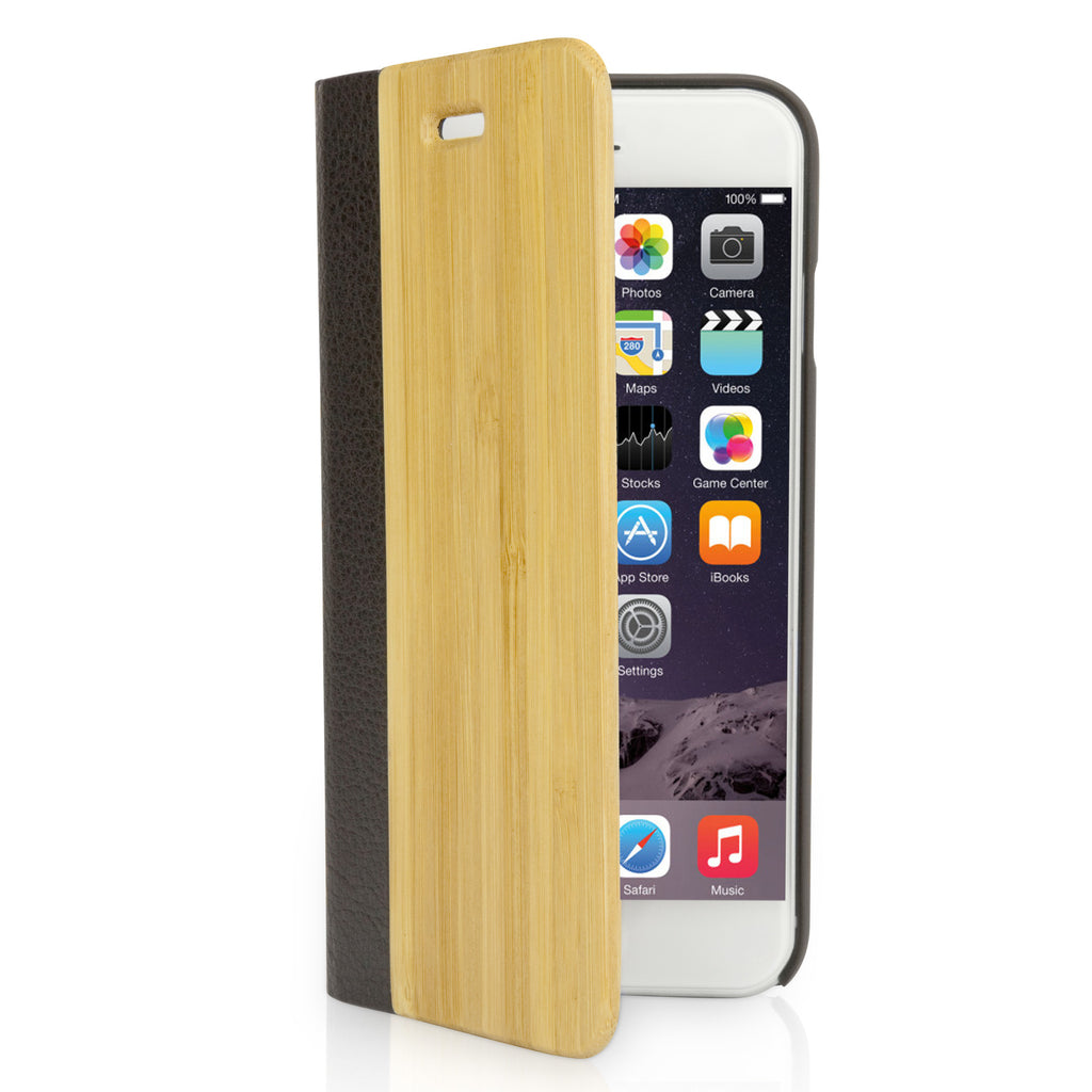 True Bamboo Booklet Case - Apple iPhone 6s Case