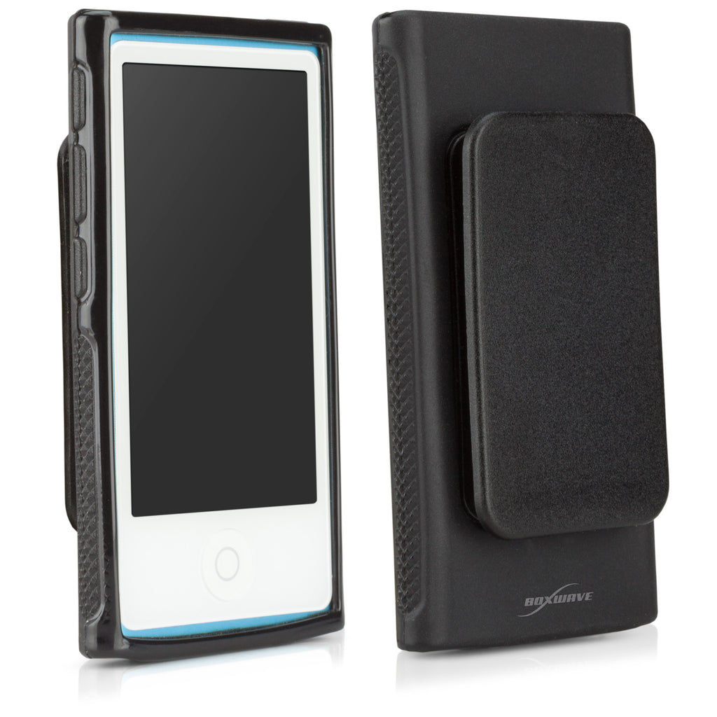 Blackout Case with Clip - Apple New iPod Nano 7 Case