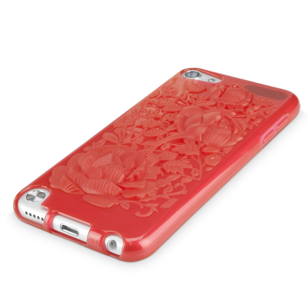Rose Sculpted Case - Apple iPod Touch 5 Case