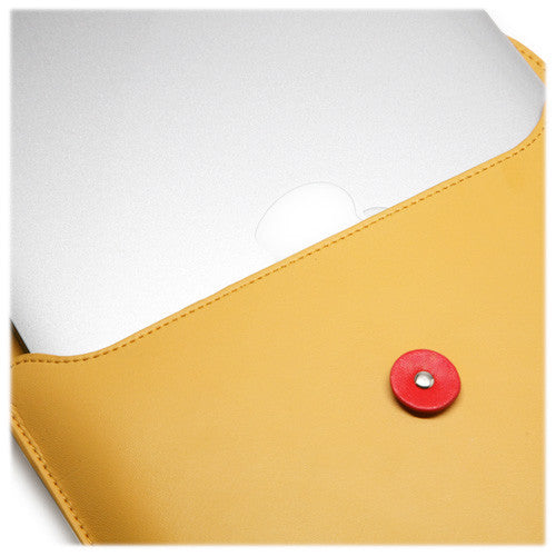 "Manila Leather Envelope - Apple MacBook Air 11"" (2010) Case"