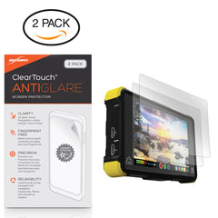 ClearTouch Anti-Glare (2-Pack) - Atomos Shogun Flame Screen Protector