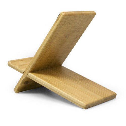 Bamboo Panel Stand - Large - Amazon Kindle 4 Stand and Mount