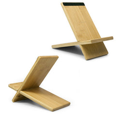 Bamboo Panel Stand - Large - ECTACO jetBook Stand and Mount