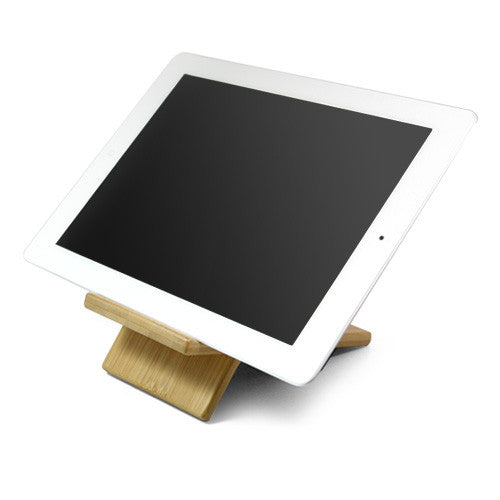 Bamboo Panel Stand - Large - Samsung Galaxy Tab 7.0 Plus Stand and Mount