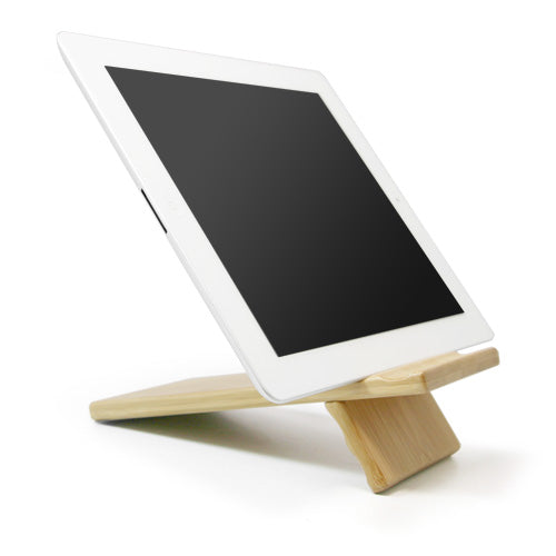 Bamboo Panel Stand - Large - Amazon Kindle 1 Stand and Mount