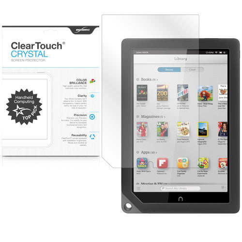 ClearTouch Crystal (2-Pack) - Barnes & Noble NOOK HD+ Screen Protector