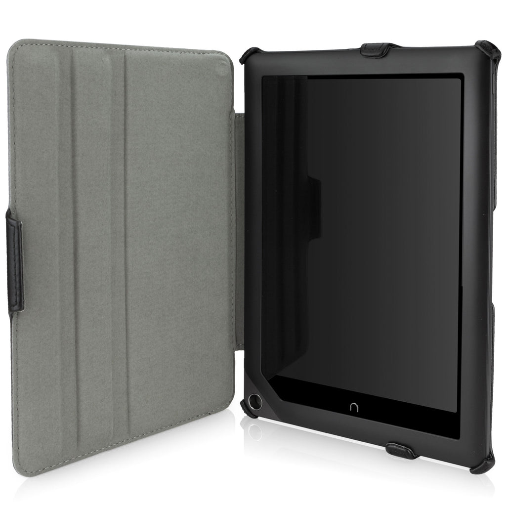 Nero Leather Book Jacket - Barnes & Noble NOOK HD+ Case