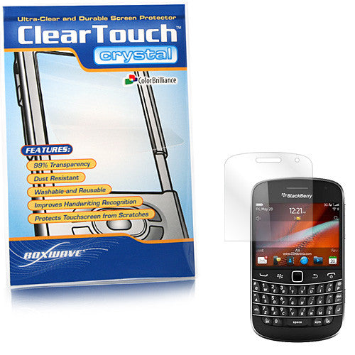 ClearTouch Crystal - BlackBerry Bold 9900 Screen Protector