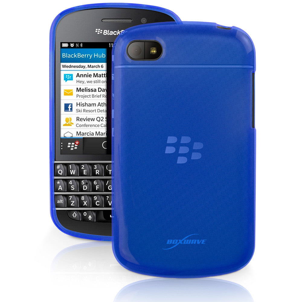 Arctic Frost Blackberry Q10 Crystal Slip