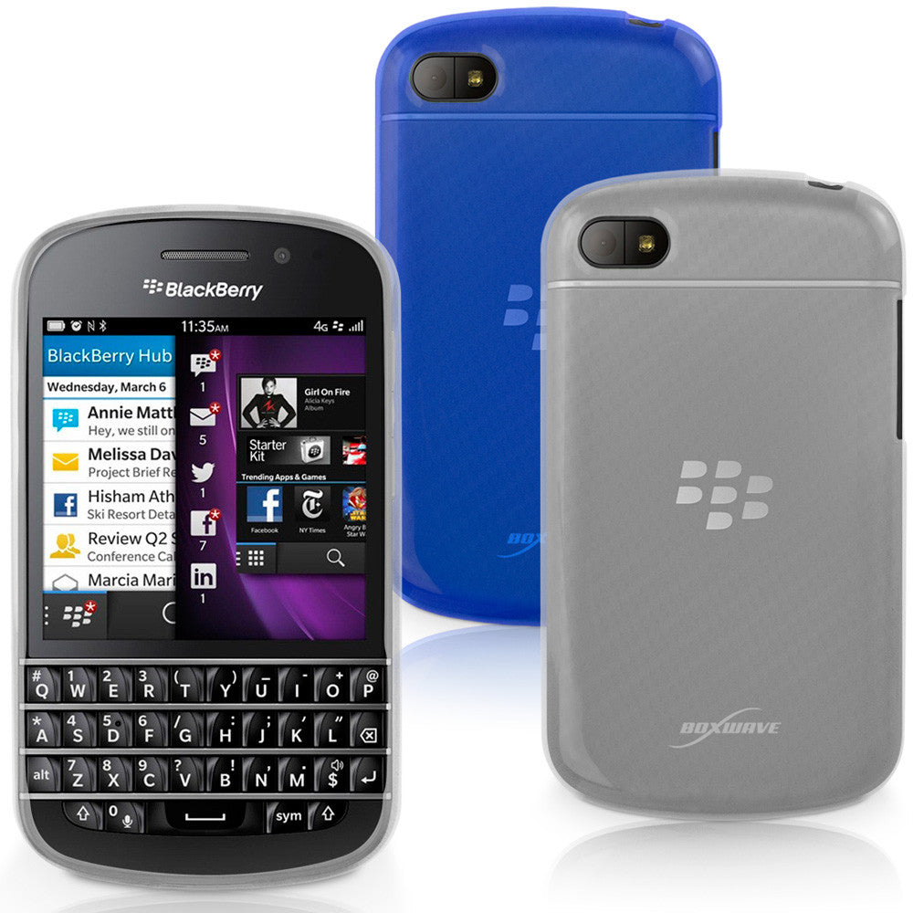 Arctic Frost Crystal Slip - Blackberry Q10 Case