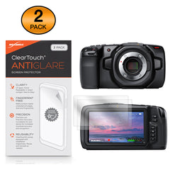 ClearTouch Anti-Glare (2-Pack) - Blackmagic Pocket Cinema Camera 4K Screen Protector