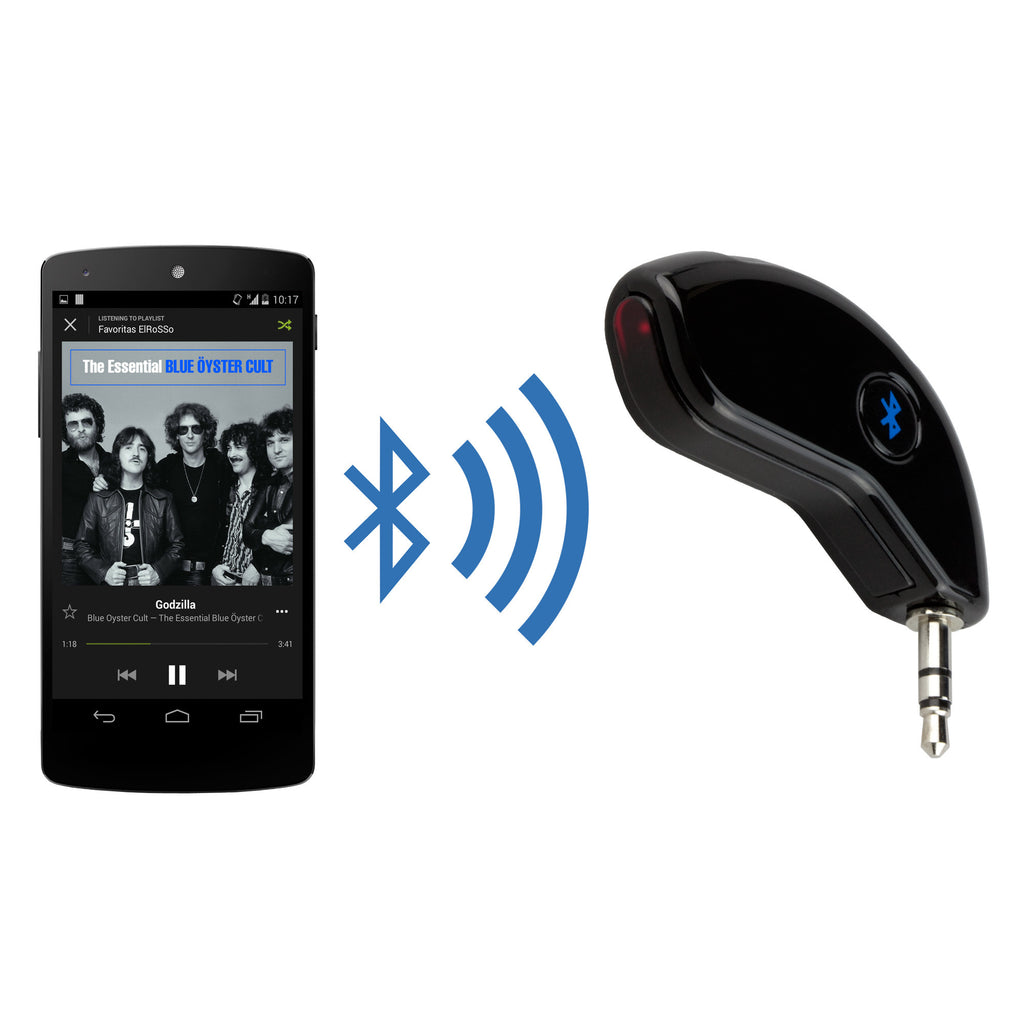 BlueBridge Audio Adapter - LG Optimus One P500 Audio and Music