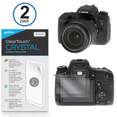ClearTouch Crystal (2-Pack) - Canon EOS Rebel T6s Screen Protector