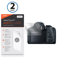 Canon EOS Rebel T7i ClearTouch Anti-Glare (2-Pack)