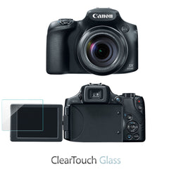 ClearTouch Glass - Canon Powershot SX60HS Screen Protector