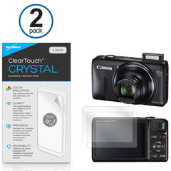 ClearTouch Crystal (2-Pack) - Canon Powershot SX600 HS Screen Protector
