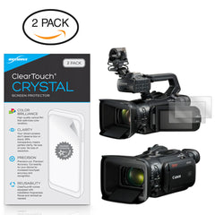 ClearTouch Crystal (2-Pack) - Canon XF400 Screen Protector