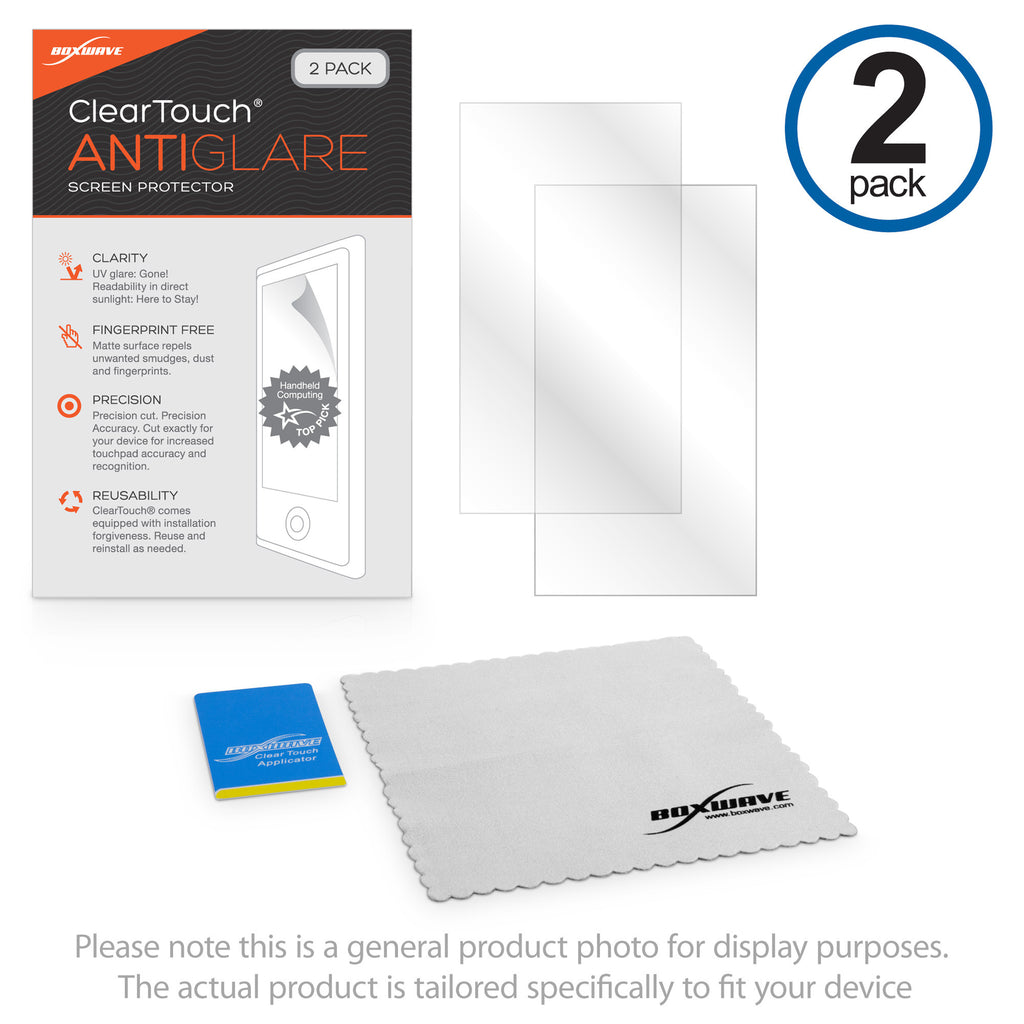 ClearTouch Anti-Glare (2-Pack) - Garmin eTrex 10 Screen Protector
