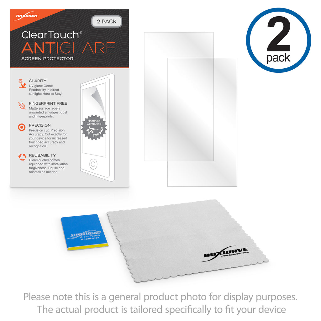 ClearTouch Anti-Glare (2-Pack) - Raspberry Pi Touchscreen Display Screen Protector