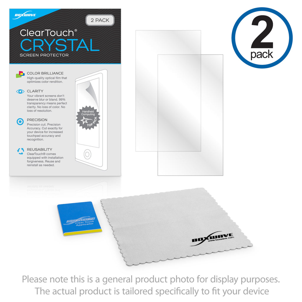 ClearTouch Crystal (2-Pack) - Wahoo RFLKT+ Screen Protector