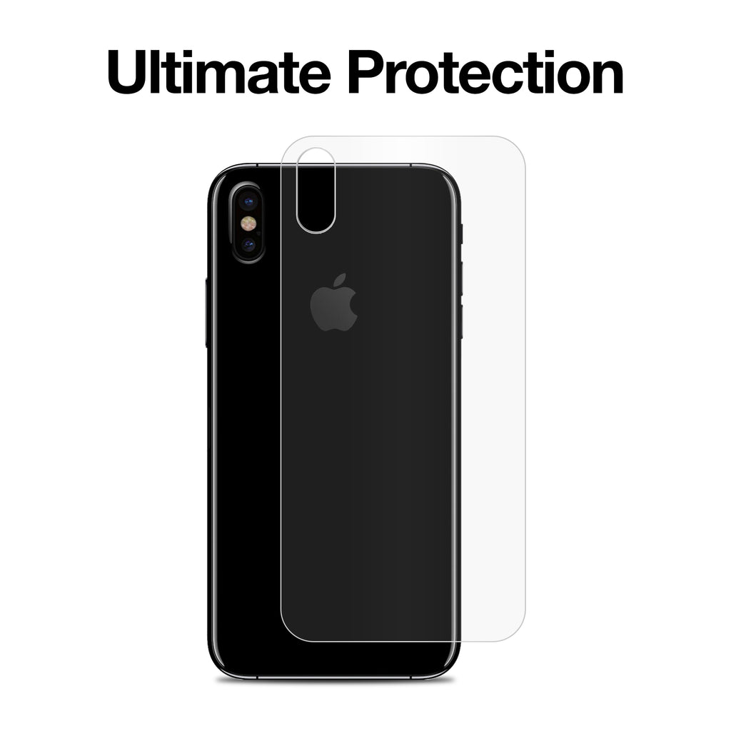 ClearTouch Glass Back Protector - Apple iPhone XS Screen Protector
