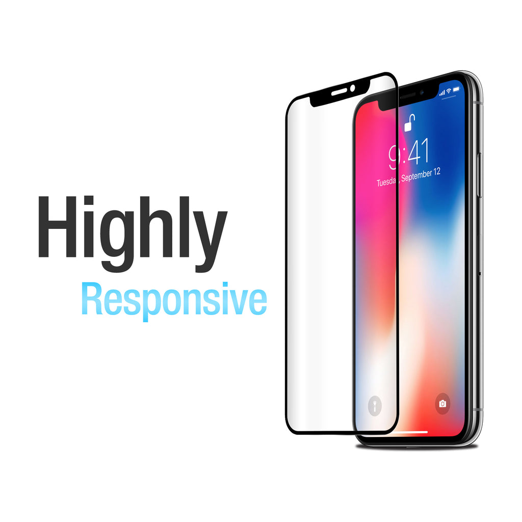 ClearTouch Glass Curve - Apple iPhone X Screen Protector