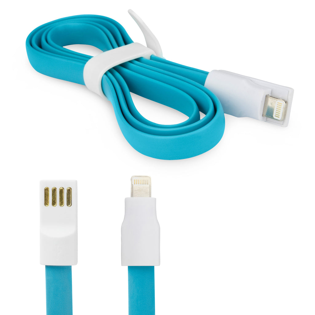 Colorific Magnetic Noodle Lightning iPhone 5s Cable