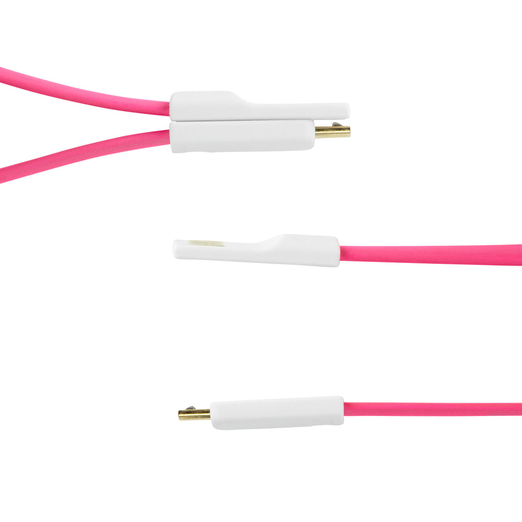 Colorific Magnetic Mini Cable - AT&T Samsung Galaxy Note (Samsung SGH-i717) Cable