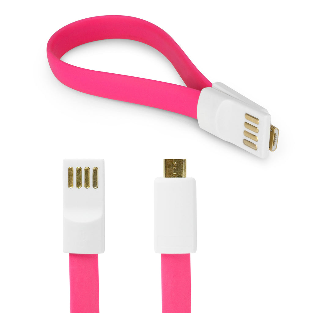 Colorific Magnetic Mini T-Mobile Samsung Galaxy S2 (Samsung SGH-t989) Cable