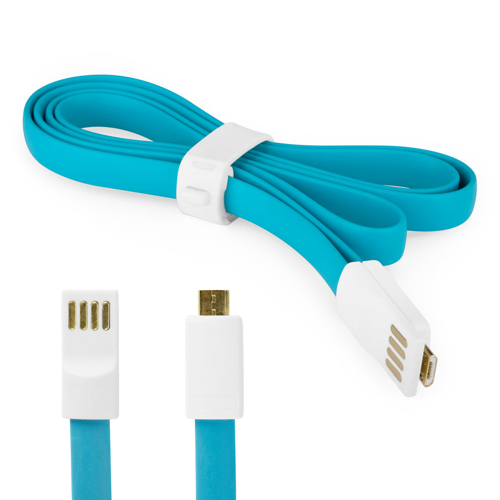 Colorific Magnetic Noodle Cable - Motorola DROID XYBOARD 10.1 Cable