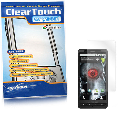 ClearTouch Crystal - Motorola Droid X Screen Protector