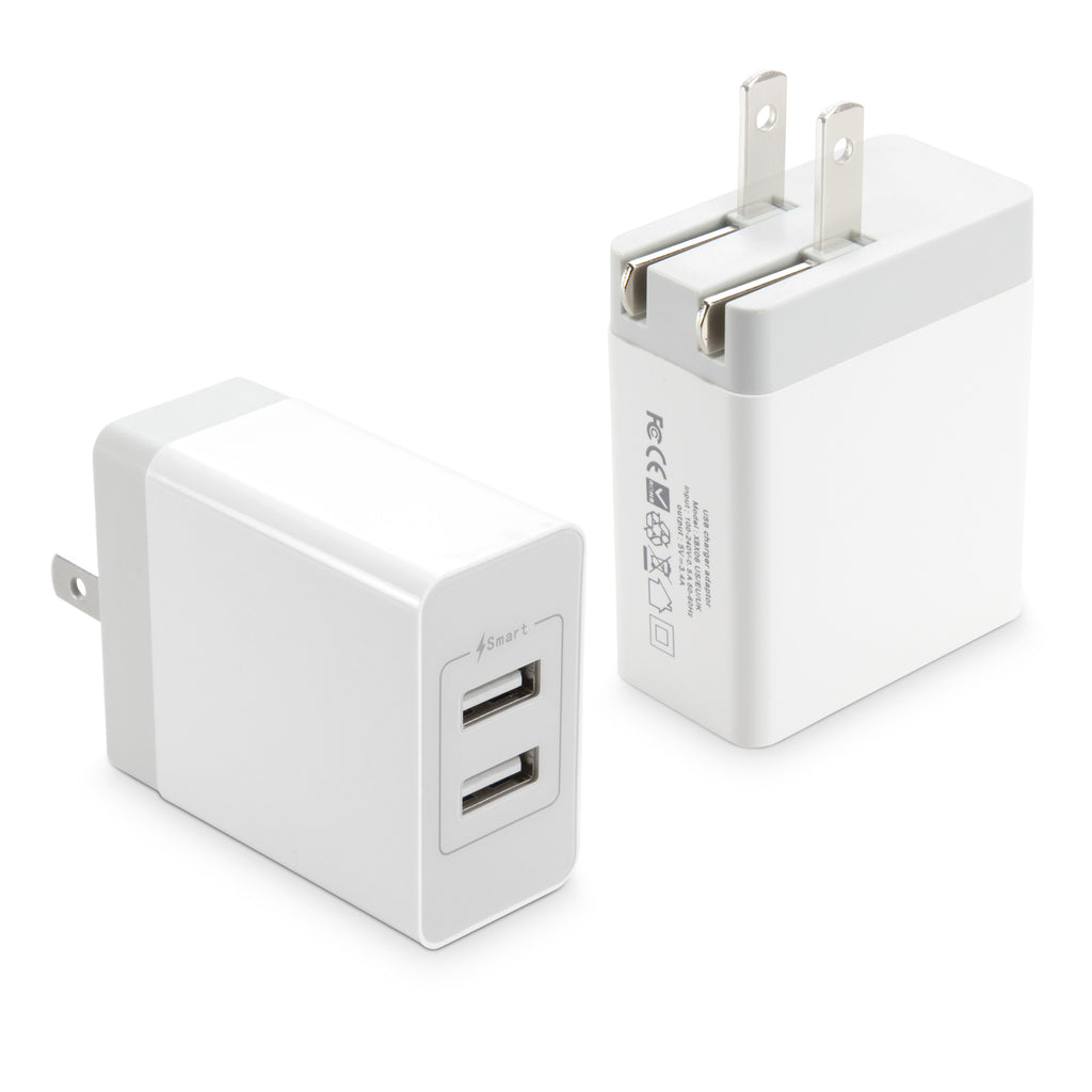 Dual High Current Wall Charger - Alcatel Flash (2017) Charger