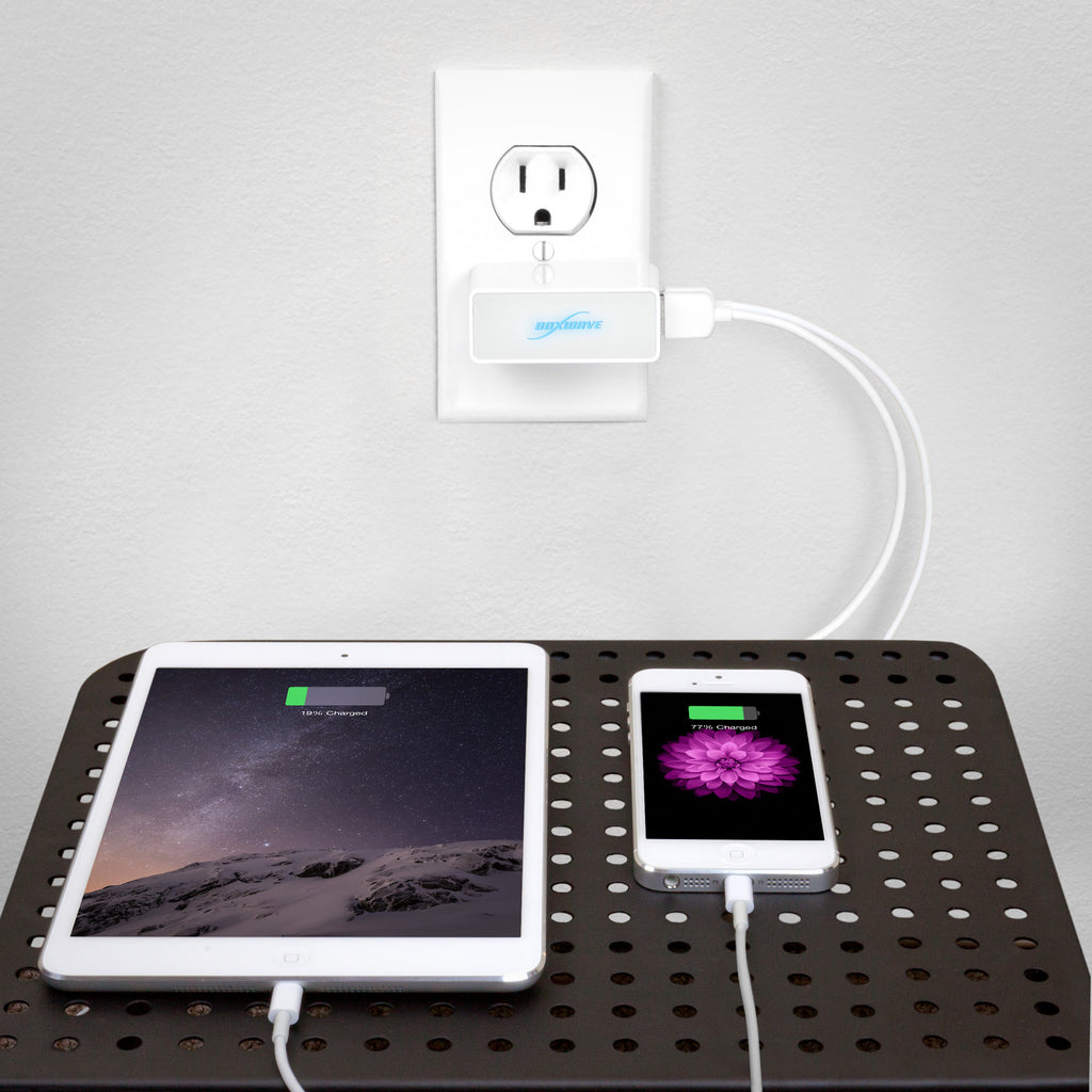 Dual High Current Wall Charger - Apple New iPod Nano 7 Charger