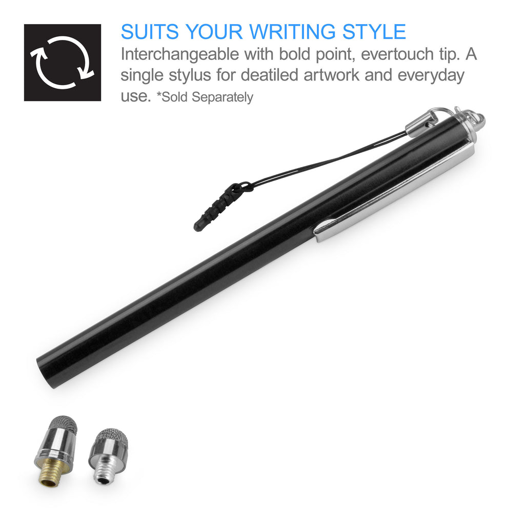 EverTouch Slimline Capacitive Stylus with Replaceable Tip - Samsung Galaxy S2, Epic 4G Touch Stylus Pen
