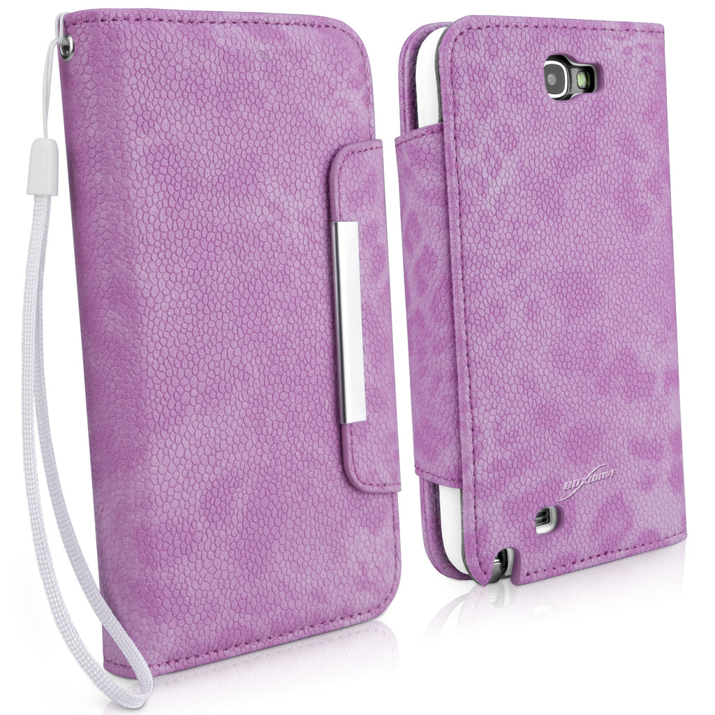 Leather Clutch Case - Samsung Galaxy Note 2 Case