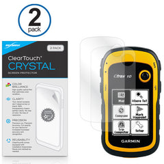 ClearTouch Crystal (2-Pack) - Garmin eTrex 10 Screen Protector