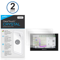 ClearTouch Crystal (2-Pack) - Garmin Nuvi 2589 Screen Protector