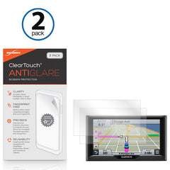 ClearTouch Anti-Glare (2-Pack) - Garmin Nuvi 68LMT Screen Protector
