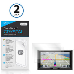 ClearTouch Crystal (2-Pack) - Garmin Nuvi 68LMT Screen Protector