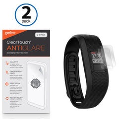 ClearTouch Anti-Glare (2-Pack) - Garmin Vivofit Jr 2 Screen Protector